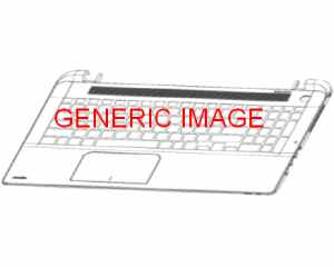 For HP 15-b022es 15-b025es 15-b105la 15-b120la Keyboard Spanish Teclado Frame
