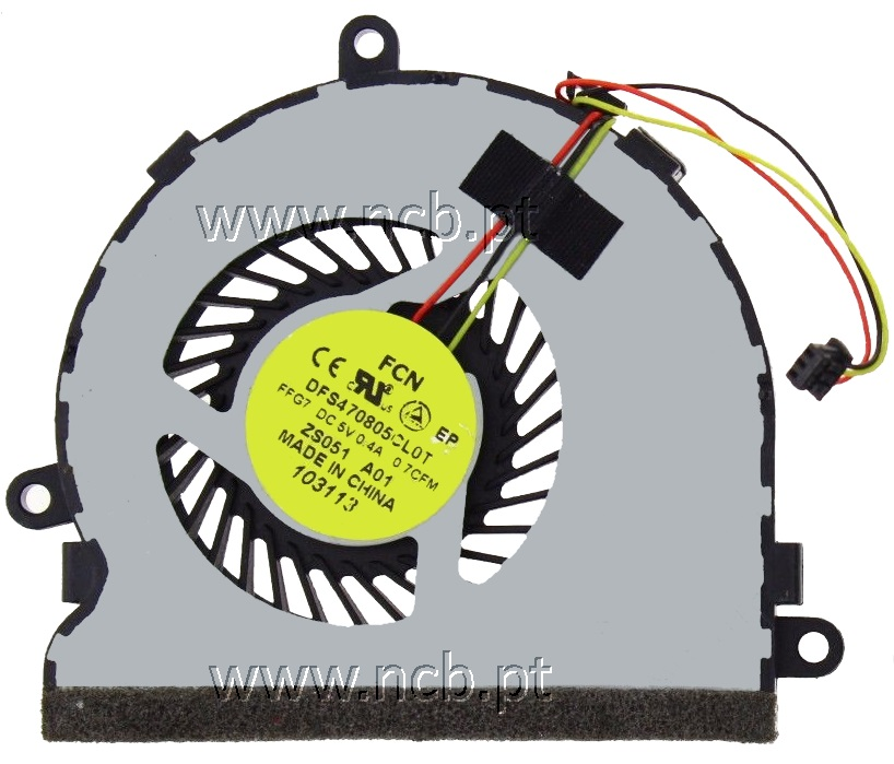 DC28000E3F0 FAN HP 14-G 14-R 15-G 15-R COMPAQ 14-S 14-G 14-R 14-S ... 6242883a8d27